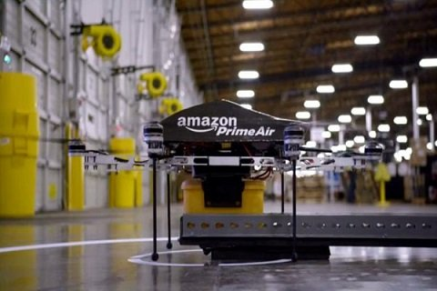 Amazon намерен вплотную заняться изучением БПЛА и беспилотных транспортных средств