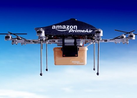 Amazon запатентовал упаковку со встроенным парашютом