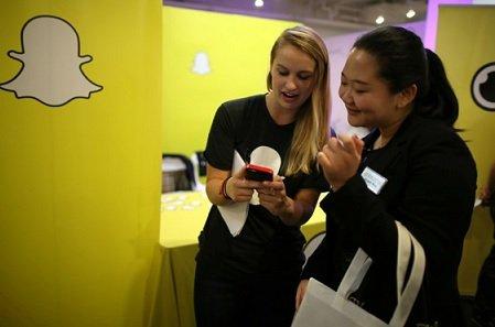 Tencent вложилась в приобретение 12% Snap Inc.