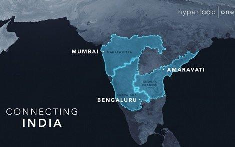 Virgin Hyperloop One приступила к подбору маршрутов для развертывания транспортной системы в Индии