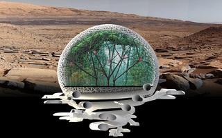В Америке подготовлен проект марсианского города