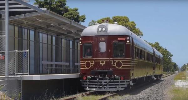 В Австралии был запущен первый поезд на солнечных батареях