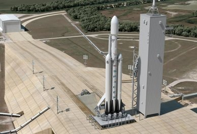 Стала известна дата запуска Falcon Heavy к Марсу