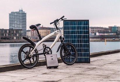 Копенгагенские стартаперы представили электробайк, функционирующий на солнечной энергии