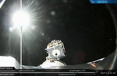 SpaceX отчиталась об успешном выводе на орбиту 6-тонного спутника