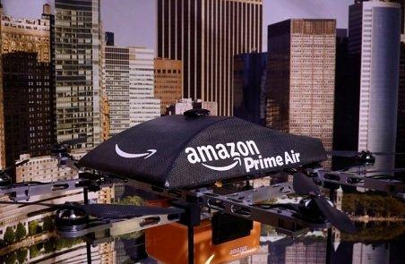 Беспилотниками Amazon можно будет управлять с помощью жестов