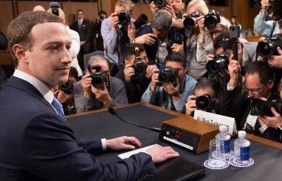 Капитализация Facebook увеличилась на 4,5% после дачи пояснений Цукербергом в Сенате