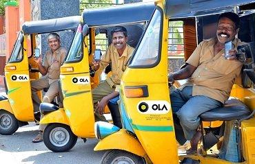 До конца года индийский стартап Ola планирует вывести на дороги 10 000 электрорикш