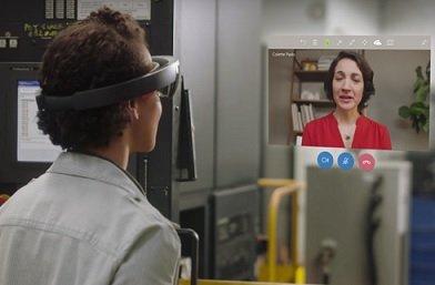 Разработчики Microsod представили приложения для осуществления AR-видеозвонков