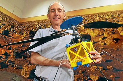 NASA анонсировало оправку на Марс беспилотного вертолета
