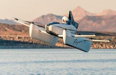Стартап-компания Л. Пейджа представила новую модификацию «летающего автомобиля»