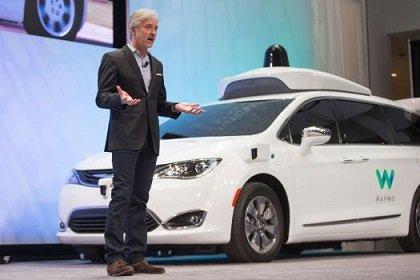 Таксомоторный сервис Waymo разместил заказ на поставку 62 000 автомобилей