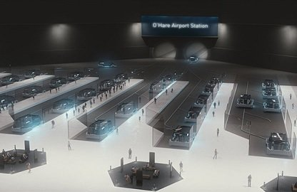 Власти Чикаго согласовали заявку The Boring Company на строительство подземной транспортной системы