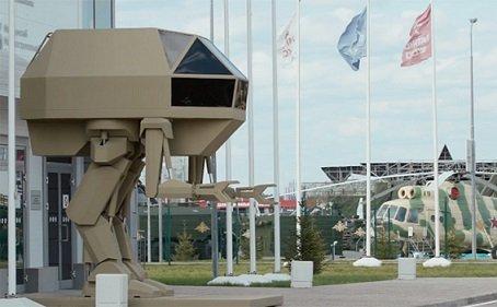 Инженеры «Калашникова» представили концепт управляемого робота
