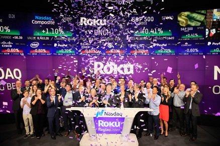 Спустя год после IPO акции Roku выросли в цене в четыре раза