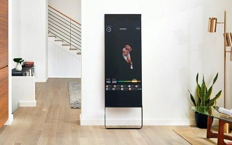 Стартап Mirror представил подключенное зеркало для занятий фитнесом