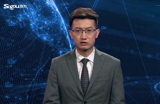 «Синьхуа» начало использовать в новостных выпусках виртуального ведущего