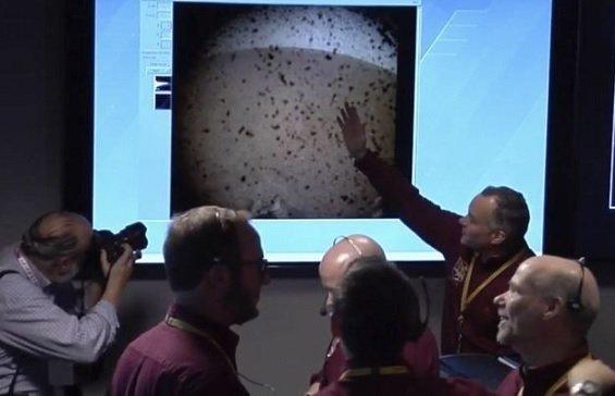 Американцы успешно посадили на Марс зонд InSight