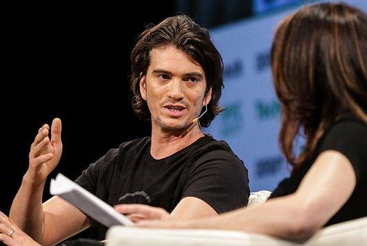 В преддверии IPO основатель WeWork заложил и продал бумаги компании на 700 млн USD