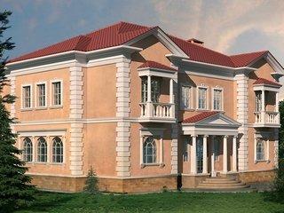 фасадный декор здания