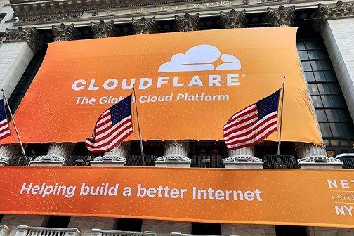 Акции Cloudflare выросли в цене в первый день торгов на 22%