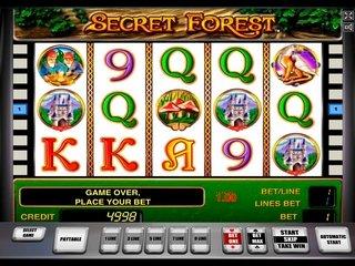 Почему стоит сыграть в игровой автомат Secret Forest?