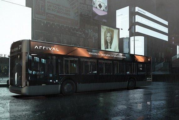 Электробусы Arrival начнут курсировать по Калифорнии