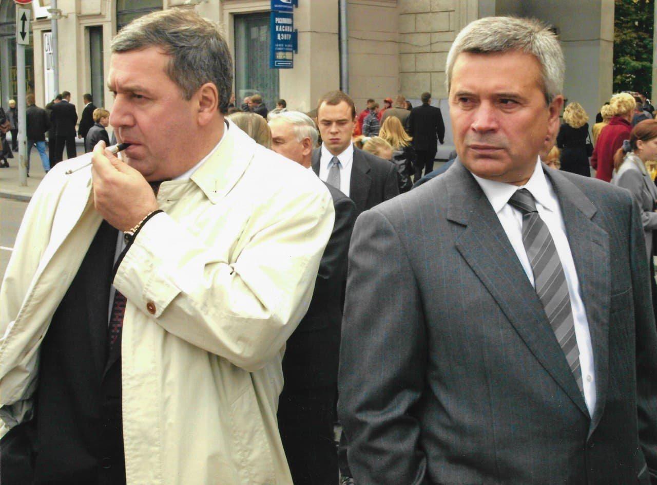 Михаил Гуцериев и Вагит Алекперов