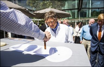 Bill Gates held a competition to develop innovative toilets