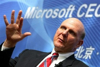 The head of Microsoft with his address to Russian students