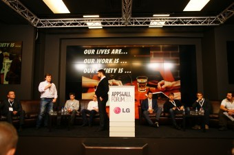 "The 4th International Forum for mobile developers ""Apps4All"" has been held in"